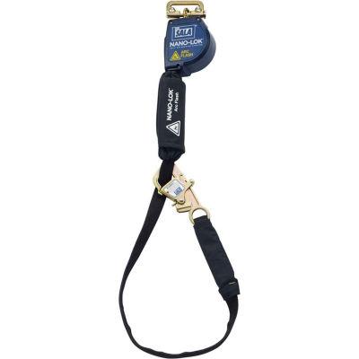 3M™ DBI-SALA® Nano-Lok™ Arc Flash Tie-Back Self Retracting Lifeline, Web 3101562, 11'