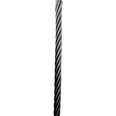 "3M DBI-SALA® Lad-Saf™ 190'L Swaged Galvanized Steel Cable, 3/8"" Dia, 1x7 Strands, 6104190"
