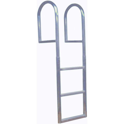 Dock Edge Dock Ladder 3 Step Fixed, Welded Aluminum - 2013-F