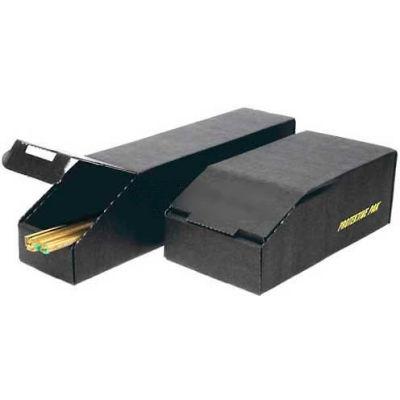 """Protektive Pak 37590 ESD Closed Bin Box, 4""""W x 12""""D x 4-1/2""""H - Pkg Qty 5"""