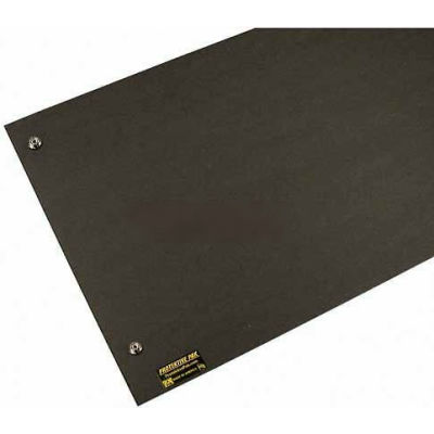 "Protektive Pak 37670 Pro-Mats Work Surface, Male Snaps, 11-3/4""L x 35-1/2""W x 1/16""H - Pkg Qty 5"