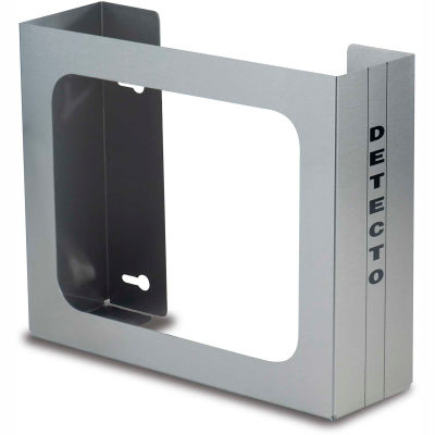 """Detecto® Double Glove Box Holder, Stainless Steel, 10""""H x 12""""W x 4""""D"""