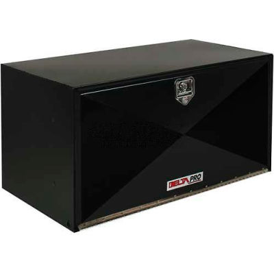 "DELTA PRO™ Black Steel Underbed Box - 18"" x 18"" x 18"""