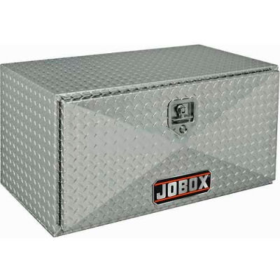 "JOBOX 14"" Tall Aluminum Underbed Box - 24"" x 14"" x 12"""