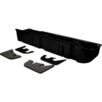 DU-HA 09-14 Ford F-150 SuperCrew - Underseat Storage - Black (Fits with factory subwoofer)