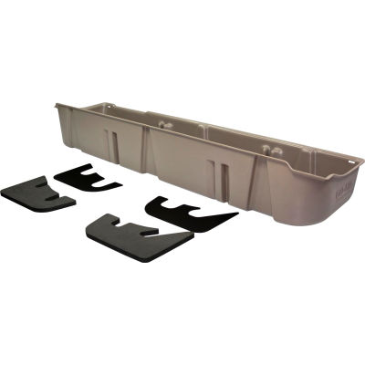 DU-HA 09-10 Ford F-150 SuperCrew - Underseat Storage - Gray (Fits with factory subwoofer)