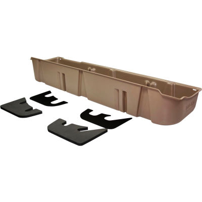 DU-HA 09-14 Ford F-150 SuperCrew - Underseat Storage - Tan (Fits with factory subwoofer)