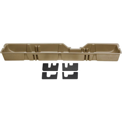 DU-HA 09-15 Ford F-250-F-550 Supercab - Underseat - Tan (Does not fit w/factory subwoofer)