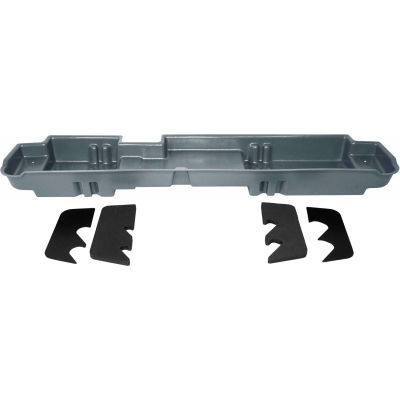DU-HA 11-15 Ford F-250-F-550 Crew Cab - Underseat - Gray (Fits 60/40 split bench seats only)