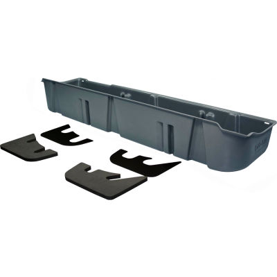 DU-HA 11-14 Ford F-150 SuperCrew - Underseat Storage - Gray (Fits with factory subwoofer)