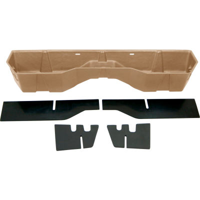 DU-HA 08-15 Nissan Titan King Cab & Crew Cab - Underseat Storage / Gun Case - Tan