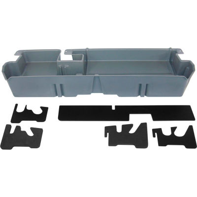 DU-HA 07-15 Toyota Tundra Double Cab - Underseat - DkGray (Does not fit w/factory subwoofer)