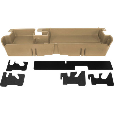 DU-HA 07-15 Toyota Tundra Double Cab - Underseat - Tan (Does not fit w/factory subwoofer)