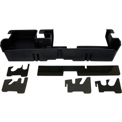 DU-HA 07-15 Toyota Tundra Double Cab - Underseat - Black (Fits with factory subwoofer)