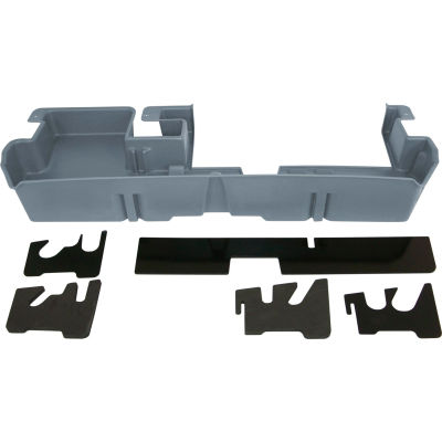 DU-HA 07-15 Toyota Tundra Double Cab - Underseat - Dk Gray (Fits with factory subwoofer)