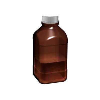 SCILOGEX Autoclavable Bottle 17400037, 1 Liter, 45mm Thread, Amber, Glass