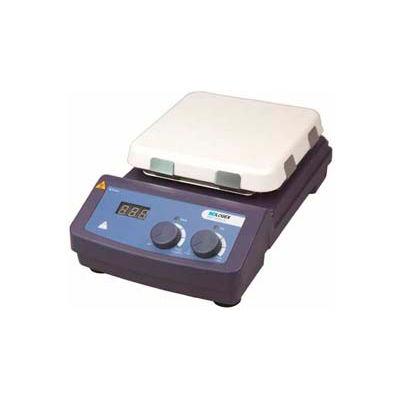 SCILOGEX MS7-H550-S LED Digital 7x7 Hotplate Stirrer 81322100, Ceramic-Glass Plate, 110V, 50/60Hz