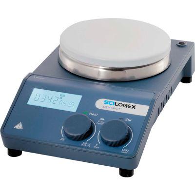 SCILOGEX MS-H-Pro-Plus LCD Digital Hotplate Stirrer with Ceramic Plate, 86144201, 110V, 50/60Hz