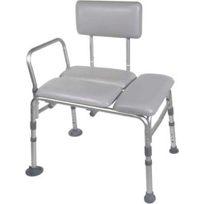 Drive Medical 12005KD-1 Padded Transfer Bench