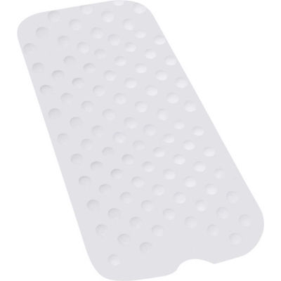 "Drive Medical 12950 Shower Bathtub Mat, Large, 35-1/2""L x 15-3/4""W, White"