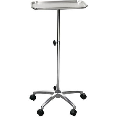 """Drive Medical 13071 Mayo Instrument Stand with Mobile 5"""" Caster Base"""