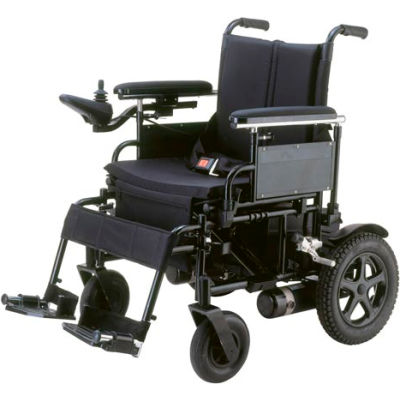 "Drive Medical CPN18FBA Cirrus Plus EC Folding Power Wheelchair, 18"" Sling Seat"