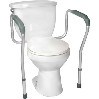 Drive Medical Toilet Safety Frame RTL12000, 300 Lbs. Capacity, White