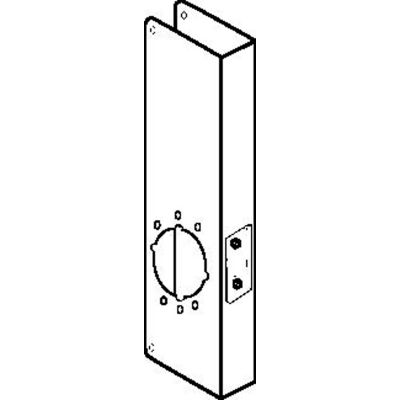 Don Jo 14-2-CW-AB Wrap Around For Simplex 1000 Series Alarm Lk DL2500, 2700/T2&3000 Series, AB