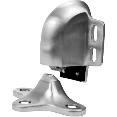 "Don Jo 1522-626 Door Holder, 1-1/8""- 1-9/16""Clearance, Brushed Chrome"