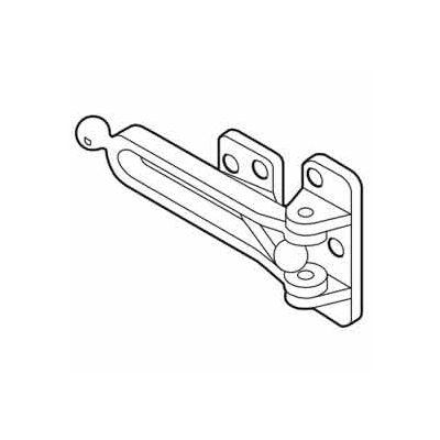 """Don Jo 1604-625 Door Flip Guard, 1/2""""x2-5/8""""x5""""xBRC - Pkg Qty 10"""