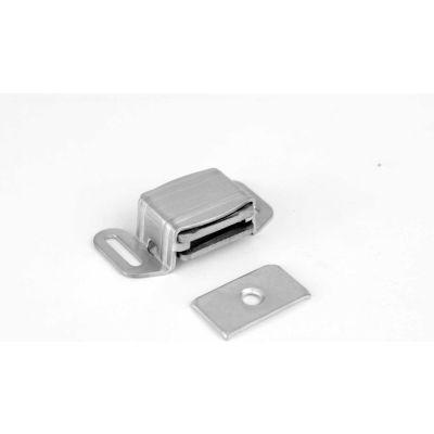 "Don Jo 1720-626 Magnetic Latch, 2-1/16""x1-1/8""x5/8"", Brushed Chrome - Pkg Qty 10"