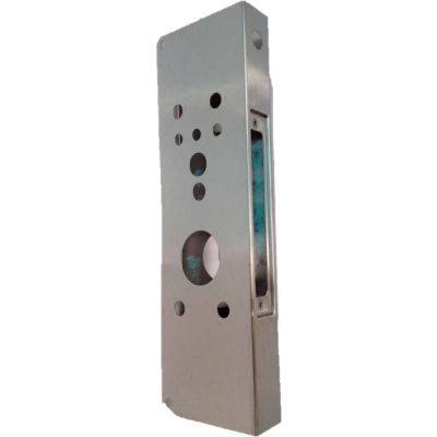 Don Jo 504AD-S-CW Wrap Around AD Lock, Stainless Steel