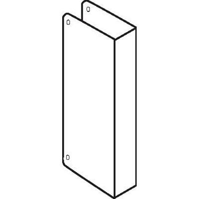 Don Jo 90-CW-S Blank Wrap Around W/Trim Screws, Stainless Steel