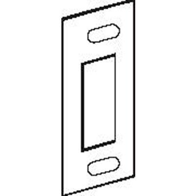 Don Jo A 2 SDS-BP Security Strike, 1-1/4x3-3/8, Brass Plated - Pkg Qty 10