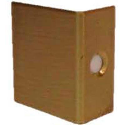 """Don Jo AP 34-605 Door Flip Guard, 1""""x1""""x1/2"""", Polish Brass - Pkg Qty 100"""