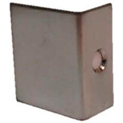 "Don Jo AP 34-625 Door Flip Guard, 1""x1""x1/2"", Bright Chrome - Pkg Qty 100"