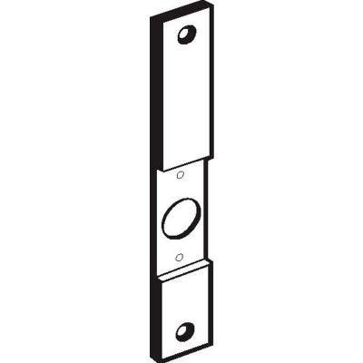 "Don Jo CV 86-PC Conversion Plates, 8""x1-1/4""xCut Out to 161, Prime Coat - Pkg Qty 10"