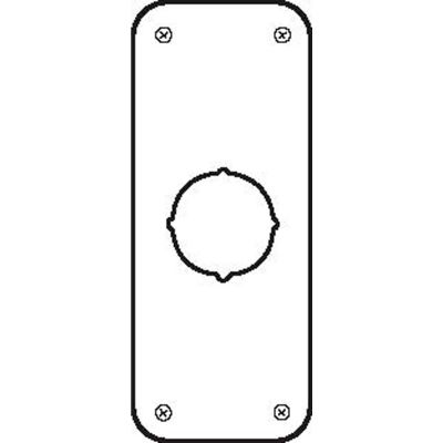 """Don Jo RP 13509-630 Remodeler Plate, 3-1/2""""x9"""", .032 thick, Stainless Steel - Pkg Qty 10"""