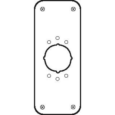"""Don Jo RP 13509 2-630 2 Remodeler Plate, 3-1/2""""x9"""", .032 thick, Stainless Steel - Pkg Qty 10"""