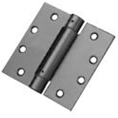 "Don Jo SH74545-600 Full Mortise Spring Hinge, 4-1/2""x4-1/2"", Prime Coat - Pkg Qty 2"