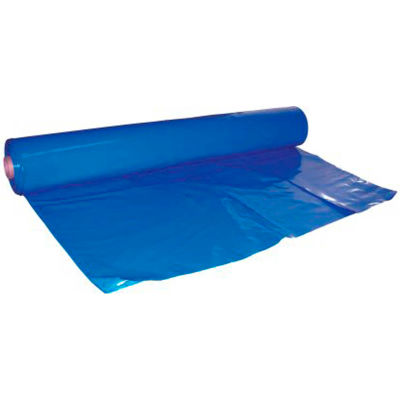 Dr. Shrink DS-407149B Shrink Wrap 40'W x 149'L, 7 Mil, Blue, 1 Roll