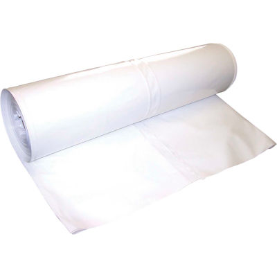 Dr. Shrink DS-407149W Shrink Wrap 40'W x 149'L, 7 Mil, White, 1 Roll