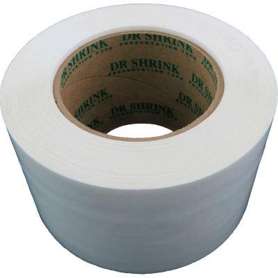 """Dr. Shrink Preservation Tape 3""""W x 108'L 10 Mil White - Pkg Qty 16"""