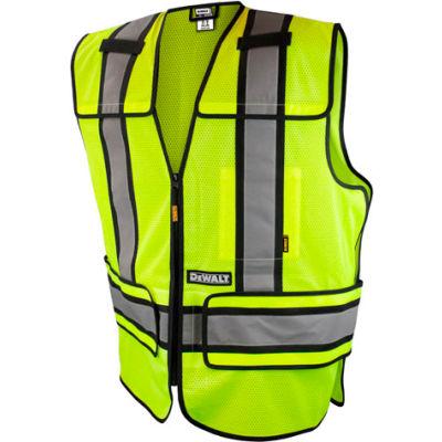 DeWalt® DSV421-XL/3X ANSI Class 2 Adjustable Breakaway Vest XL/3X