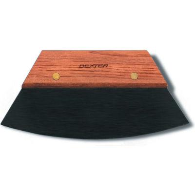 "Dexter Russell 17010 - Bakers Bowl Scraper, Neoprene Blade, Wood Handle, 8"""