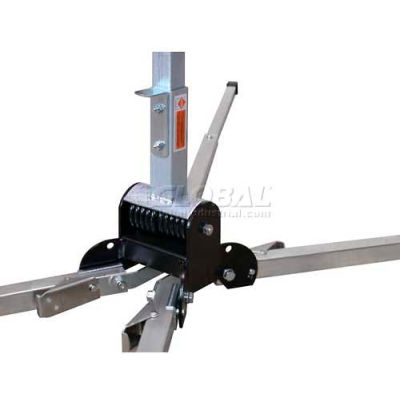 Dicke Safety DynaFlex™Dual Torsion Spring Stand for Roll-Up Signs, DF3000W