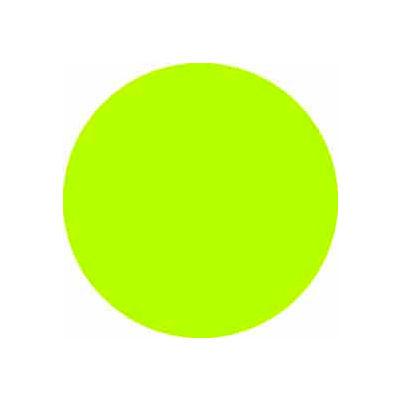 "Fluorescent Green Discs 1/2"" Dia."