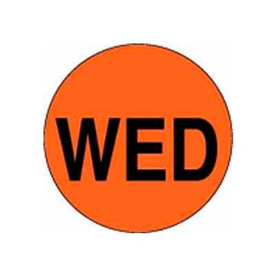 "Wed 1"" Dia. - Fluorescent Orange / Black"