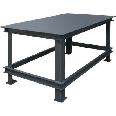 "Durham HWBMT-367230-95 72""W X 36""D X 30""H Extra Heavy Duty Machine Table"