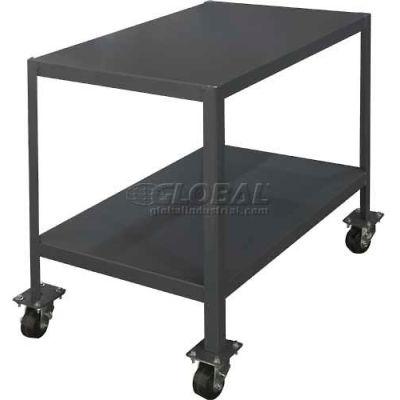 "Durham MTM244830-2K295 48""W X 24""D X 30""H Machine table with 1 Shelf"